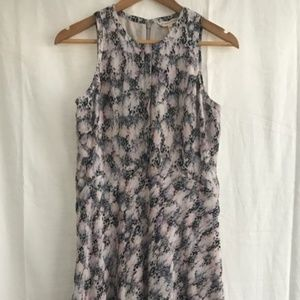 Rebecca Taylor printed silk dress